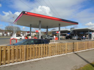 Award Winning Liverpool Rd Service station Irlam