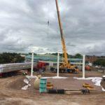 Elsemere Port Service Station Under Construction
