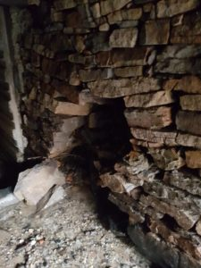 Partially Collapsed Culvert Wall