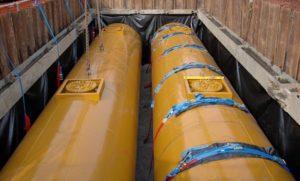 Primrose Garage tanks going in (4)